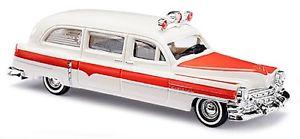 【送料無料】模型車 モデルカー スポーツカー ブッシュキャデラックステーションワゴンbusch 43457 cadillac station wagon ambulance:hokushin