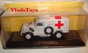 【送料無料】模型車 モデルカー スポーツカー イーグルモスダッジトイレトンeaglemoss 143 dodge wc54 34ton 4x4 ambulance us navy annapolis 1945 rtired