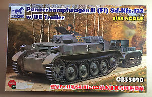 【送料無料】模型車 モデルカー スポーツカー ブロンコモデルプラスチックキットbronco models cb35090 panzerkampfwagen ii sdkfz122 135 plastic kit