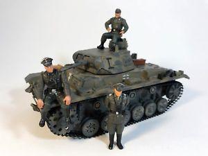 【送料無料】模型車 モデルカー スポーツカー ドイツタンクultimate soldier 132 wwii german panzer iii tank amp; 3 figures 21st century lot