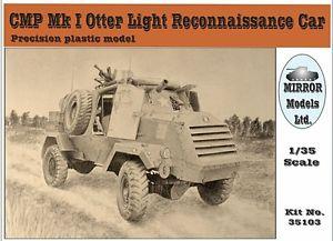 【送料無料】模型車 モデルカー スポーツカー ミラーモデルスカラmirror models 35103 cmp mki otter recce car scala 135