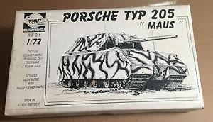 【送料無料】模型車 モデルカー スポーツカー モデルポルシェタイプマウスレジンキットヌオーヴォplanet model mv 011 172 porsche typ 205 maus resin kit nuovo