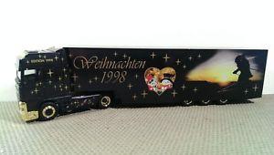 【送料無料】模型車 モデルカー スポーツカー クリスマストターherpa daf xf 95 weihnachten 1998 sattelzug *vi52725