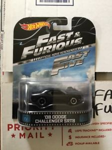 【送料無料】模型車 モデルカー スポーツカー 08 dodge challenger srt8 fast amp; furious fast five hot wheels 164 retro