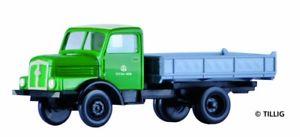 【送料無料】模型車 モデルカー スポーツカー トラックtillig 19007 lkw h3a kipper veb bauunion, tt