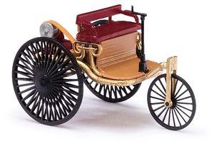 【送料無料】模型車 モデルカー スポーツカー ベンツパテントモータートラックブッシュモデルbusch 40004 spur h0 benzpatentmotorwagen jubilumsmodell neu in ovp