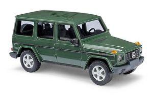 【送料無料】模型車 モデルカー スポーツカー busch 51402 spur h0 mercedesbenz gklasse 1990 grn neu