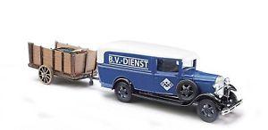 【送料無料】模型車 モデルカー スポーツカー ブッシュフォードモデルトレーラートラックbusch 47729 ford model aa aral mit anhnger, spur h0