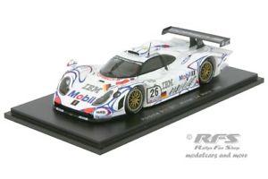 【送料無料】模型車 モデルカー スポーツカー ポルシェグアテマラルマンマクニッシュスパークporsche 911 gt1 24h le mans 1998 aiello mcnish ortelli 143 spark 43lm98