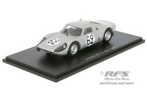 【送料無料】模型車 モデルカー スポーツカー ポルシェルマンパワースパークporsche 9044 gts 24h le mans 1965 poirot stommelen 143 spark 4684