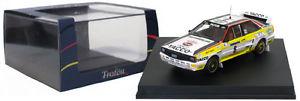 【送料無料】模型車 モデルカー スポーツカー ツールドコルスラリーアウディクワトロスケールtrofeu 1621 audi quattro tour de corse rally 1984 b darniche 143 scale