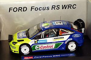 【送料無料】模型車 モデルカー スポーツカー フォードフォーカスラリースウェーデングロンホルム118 ford focus wrc castrol winner rally sweden 2007 mgronholm