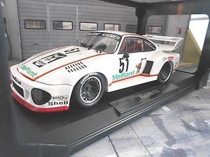 【送料無料】模型車 モデルカー スポーツカー ポルシェターボクレーメルゾルダー#porsche 935 turbo kremer vaillant drm 1977 zolder vaillant 51 wollek norev 118