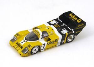 【送料無料】模型車 モデルカー スポーツカー ポルシェバリラ#キロスパークporsche 956 7 barillaghinzani winner 1000km fuji 1986 spark 143 sj019