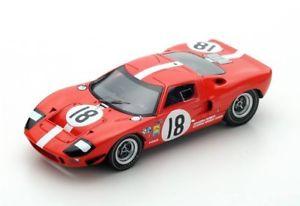 【送料無料】模型車 モデルカー スポーツカー フォード'#ルマンford gt40 filipinetti 18 magliolicasoni le mans 1967 spark 143 s5178