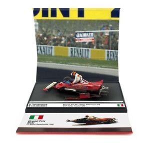 【送料無料】模型車 モデルカー スポーツカー フェラーリ#ビルヌーブイタリアハムエースferrari 312 t5 2 gvilleneuve gp italy 1980 tosaerba brumm 143 as62