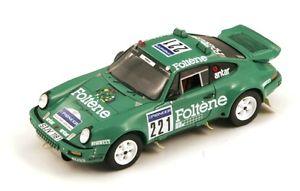 【送料無料】模型車 モデルカー スポーツカー ポルシェ#パリダカスパークporsche 911 221 jabouillelevent parisdakar 1988 spark 143 sf035