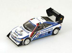 【送料無料】模型車 モデルカー スポーツカー プジョーターボ#カンクネンパイクピークスパークpeugeot 405 turbo 3 jkankkunen 2nd pikes peak 1988 spark 143 pp006
