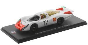 【送料無料】模型車 モデルカー スポーツカー ポルシェ#パワーキロパリスパークporsche 908 12 stommelenherrmann winner 1000km paris 1968 spark 143sf051