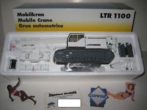 【送料無料】模型車 モデルカー スポーツカー クレーンホワイトコンラッドliebherr ltr 1100 teleskopkran weiss 273813 conrad 150 ovp