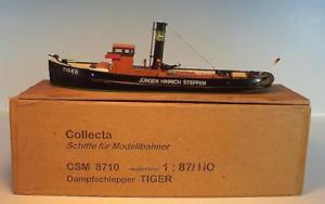 【送料無料】模型車 モデルカー スポーツカー トタートラボックス#collecta 187 csm 8710 wasserlinien dampfschlepper tiger in obox 214