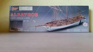 【送料無料】模型車 モデルカー スポーツカー アルバトロスアメリカクリッパーキットマントヴァalbatros famous american clipper art 771 kit navi legno mantua 140