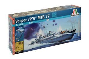 【送料無料】模型車 モデルカー スポーツカー スカラゲラvosper 72'6 mtb 77 scala 135 imbarcazione da guerra italeri 5610