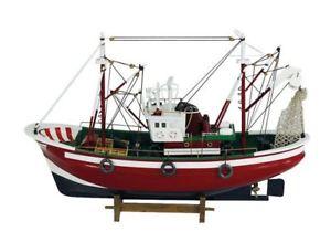 【送料無料】模型車 モデルカー スポーツカー コレアナカッターモデルモデルボートg4203 fischkutter, fischerboot, zweimast kutter, schiffsmodell, modellboot