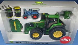 【送料無料】模型車 モデルカー スポーツカー ジョンモデルトターsiku john deere 7430 powrset agritechnica 2007 sondermodell 132 traktor