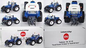 【送料無料】模型車 モデルカー スポーツカー siku farmer 2965 fendt favorit 712 vario amp; 3254 fendt 920 vario tms agritechnica