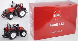 【送料無料】模型車 モデルカー スポーツカー トターモデルsiku farmer 2968 fendt farmer 412 vario traktor rot 132 sondermodell