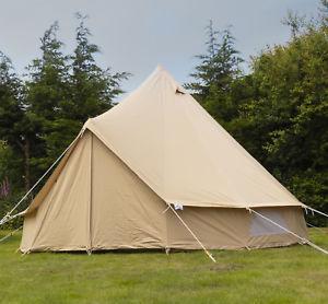 【送料無料】キャンプ用品 zigグラウンドシートアンデス4m100キャンバステントandes 4m 100 cotton canvas bell tent with heavy duty zig groundsheet