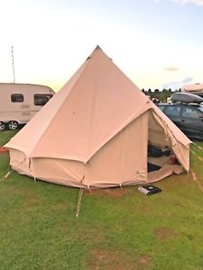 【送料無料】キャンプ用品 5mbctテント used615glamping5m bct bell tent british made high quality used 615 when glamping