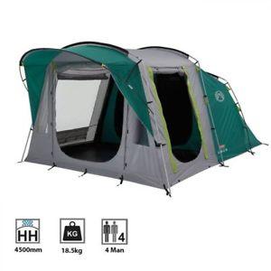 【送料無料】キャンプ用品 トンネルテントコールマンカシ4ファミリー coleman oak canyon 4 man person family camping tunnel tent greengrey