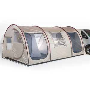 【送料無料】キャンプ用品 skandikaエスビエル4ミニバスヴァンテントskandika esbjerg travel 4 person man mini bus van awning tent sewnin floor