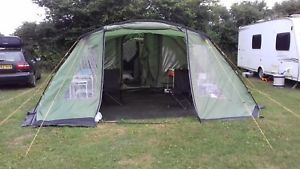 【送料無料】キャンプ用品 vangoサマラ6006テントvango samara 600 large 6 man tent front canopyfootprint