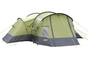 【送料無料】キャンプ用品 テントgelert6gelert trinity 6 man person camping family tent in green