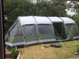 【送料無料】キャンプ用品 バーモントxlp 7テントused outwell vermont xlp 7 man tent overall very good condition