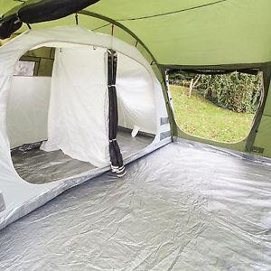 【送料無料】キャンプ用品 skandikaゴトランド6マングラウンドシートグリーンテントskandika gotland 6 personman camping family tent sewnin groundsheet green