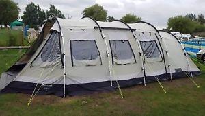 【送料無料】キャンプ用品 ノーフォークテント8polycottonnorfolk lake outwell tent used, 8 birth, polycotton, green great condition