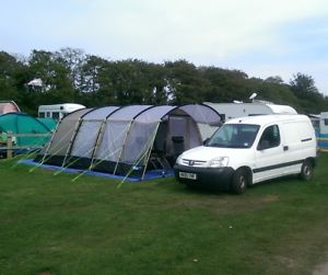 【送料無料】キャンプ用品 kampa croyde 6テント used oncekampa croyde 6 tent used once