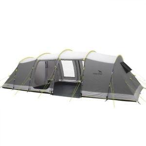 【送料無料】キャンプ用品 ハンツビルキャンプトンネルテントeasycamp huntsville 800 8 man person camping tunnel tent in grey 2016
