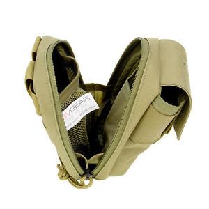 【送料無料】キャンプ用品 3vギヤーmolleテクノロジー コヨーテブラウン3v gear molle tech pouch coyote brown