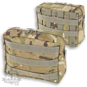 【送料無料】キャンプ用品 mtp multicam molle horizontal utility pouch british armywebbingmtp multicam molle horizontal utility pouch british army we