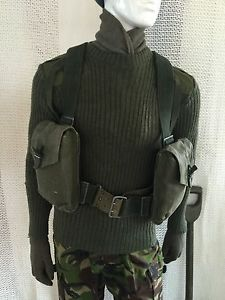 【送料無料】キャンプ用品 スウェーデンウェビングバッグ vintage swedish webbing amp; bag army surplus miliary fishing hunting shooting
