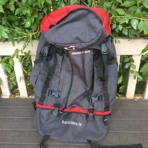 【送料無料】キャンプ用品 ハイキング70ポンドバックパックリュックサック