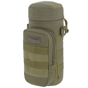 【送料無料】キャンプ用品 maxpedition 10x4ホルダーmolleカーキーmaxpedition 10x4 padded hydration water bottle holder molle army pouch khaki