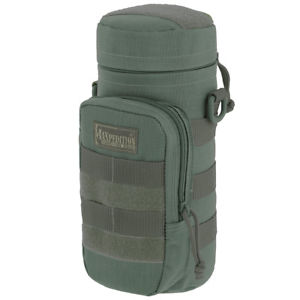 【送料無料】キャンプ用品 maxpedition 10x4padded army hydration bottle holder water molle pouchfoliagemaxpedition 10x4 padded army hydration bottle