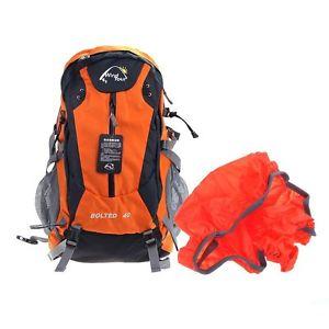 【送料無料】キャンプ用品 カバーメッシュサイドポケットツアー40ポンドハイキングリュックサックバックパックバッグ