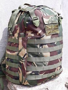 【送料無料】キャンプ用品 トマホークエリートリュックサックバックパックdpm camo 35ポンドコーデュラmolle